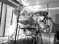 Hard rock drummer available to jam once a week and play gigs.