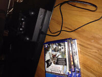 Lightly Used PS4 with games