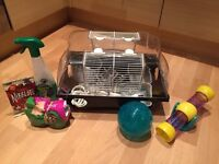 Used Hamster Cage inc. extras!