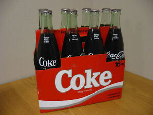 Carton de 8 bouteilles de Coca-Cola 16 oz