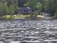 Lakefront Cottage Rental Steenburg Lake $1100/wk Bancroft-Madoc