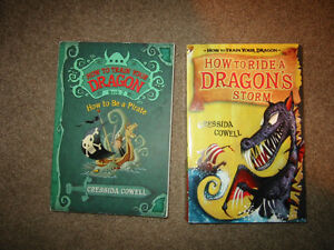 How to Train your Dragon Novels