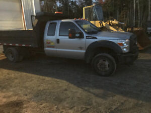 F450 plow and salter