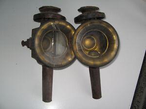 Lampes Antique de voitures à chevaux