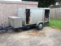 Box Trailer With Sliding doors