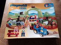 Playmobil 123 Large Zoo - New Unopened Box