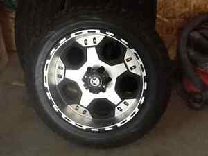 """20"""" tire and rims"""