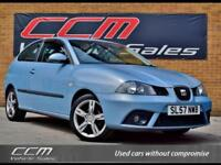 Seat Ibiza 1.4 16v Formula Sport 3DR 2007 + ONLY 63,000 MILES + FULL HISTORY +