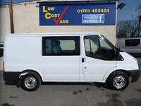 Ford Transit 280 Swb 125 Factory 6 Seat Combi AIR CON