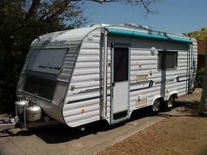Setup for free camping. Windsor Dynasty 20ft in VGC Bracken Ridge Brisbane North East Preview