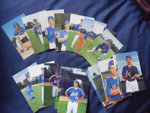 NEW YORK METS-Barry Colla Color Player Postcards.