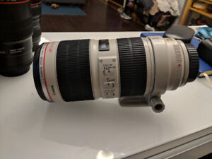 Canon 70-200 f/2.8 L IS USM version II
