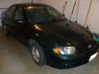 2003 Chevrolet Cavalier Sedan-59000 actual kms-works like new