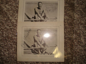 Bob Pearce Pictures-1933 Champion World Sculler Peterborough Peterborough Area image 1