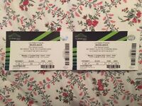 2 x Nickelback tickets 17.10.16 Wembley NEED TO GO ASAP!
