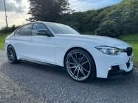 2016 BMW 320 M-Sport *M PERFORMANCE KIT *LOW MILES *AUTOMATIC *190bhp *WHITE *