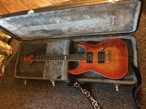 ESP LTD H500 Guitar with Hardshell Case
