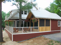 Brand New Cottages for Rent on Bobs Lake
