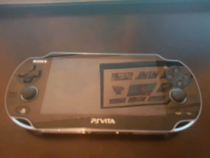 Ps Vita mint condition plus 7 games and 16gig memory