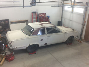 1965 Plymouth valiant 2dr post