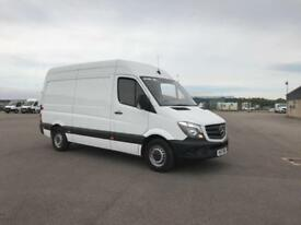 Mercedes-Benz Sprinter 314 MWB H/R VAN EURO 6 DIESEL MANUAL WHITE (2017)