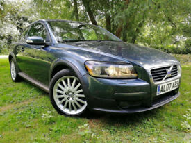 2007 Volvo C30 2.0D Diesel SE NEW CAMBELT FULL LEATHER HANDS FREE BLUE TOOTH