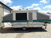 Tent Trailer - 10' Rockwood Freedom with storage box