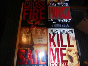 -----------------JAMES PATTERSON HARDCOVERS----------