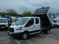 Ford Transit 2.0TDCi ECOBLUE 130PS L3 DOUBLECAB TIPPER 1 OWNER F/S/H