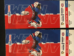 Billet de hockey des Canadiens 2 mars 2019