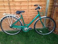 Ladies Raleigh caprice hybrid bike