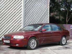 2003/53 VOLVO S80 2.4 T/DIESEL D5 SE AUTOMATIC - LOW MILEAGE - SERVICE HISTORY