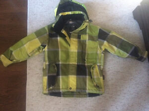 Rip zone champion ski snowboard jacket boys youth size S - $40