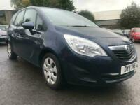 Vauxhall/Opel Meriva 1.4 16v ( 100ps ) ( a/c ) 2011.5MY Exclusiv