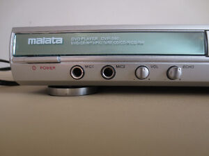 Malata DVD Player - Plays all International DVDs Cambridge Kitchener Area image 2
