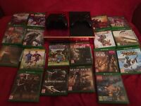 Xbox One X18 Games X2 Controllers and Xbox Kinect!!