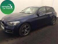 £252.23 PER MONTH 2013 BMW 118D 2.0 SPORT 5 DOOR HATCHBACK DIESEL MANUAL