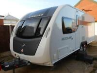 2014 STERLING ECCLES SE WAYFARER 4 BERTH FIXED BED TOURING CARAVAN FOR SALE