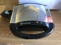 Russell Hobbs stainless steel sandwich toaster