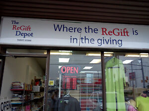 The ReGift Depot-Thrift Store-Gently Used Items