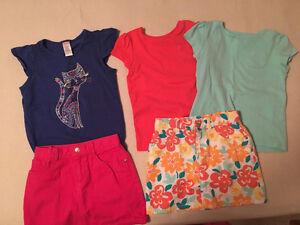 Girl's Gymboree summer clothing, size 7-8