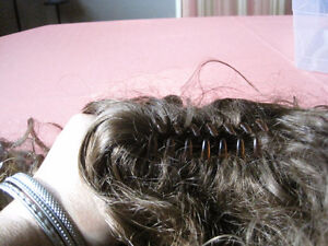 2- synthetic curly hair pieces (new)-STRATHROY London Ontario image 4