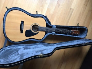 Vintage Samick Acoustic Electric Guitar