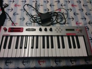 Alesis micron VA synth with transport bag