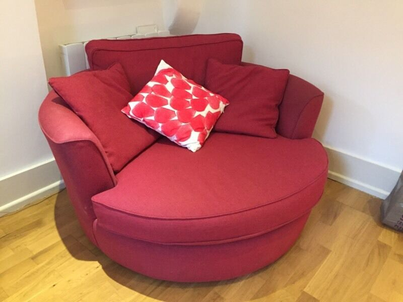 Small Red Sofa From Heals The Waltzer Loveseat