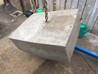 Boat mooring anchor approx 350/400kgs