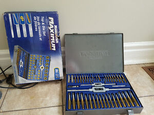 Tap and die set 86 pieces