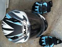 GSX-R Gear, Helmets, gloves, boots, stands