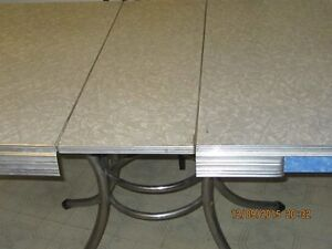 KITCHEN TABLE with EXTENSION LEAF