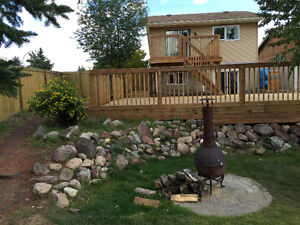GET YOUR DECK OR FENCE BEFORE XMAS!! WE DONT MIND THE WEATHER! Regina Regina Area image 3